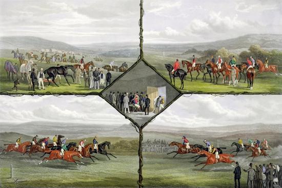 Racing Incidents-William Joseph Shayer-Giclee Print