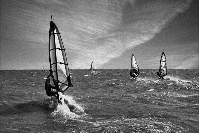 Racing Surfers-Adrian Campfield-Photographic Print