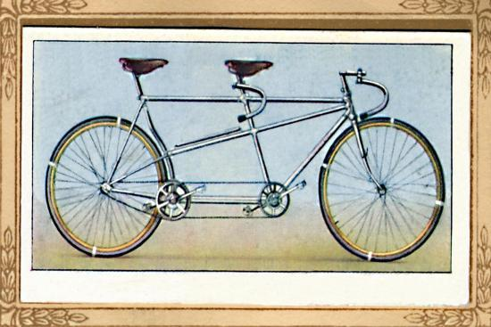 'Racing Tandem', 1939-Unknown-Giclee Print