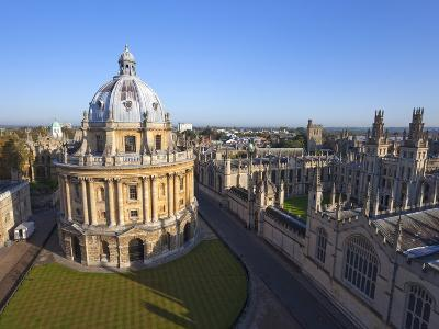 Radcliffe Camera and All Souls College, Oxford University, Oxford, England--Photographic Print