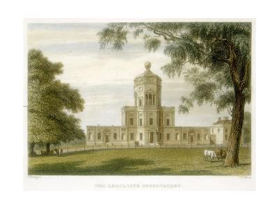 Radcliffe Observatory, Oxford, England, 1834--Giclee Print