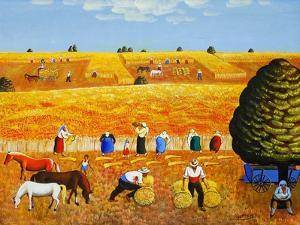 Golden Harvest, 2002 by Radi Nedelchev