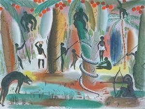 Jungle, 1979 by Radi Nedelchev