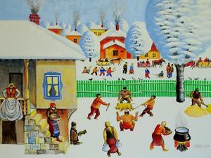 On Christmas Tree, 2006 by Radi Nedelchev