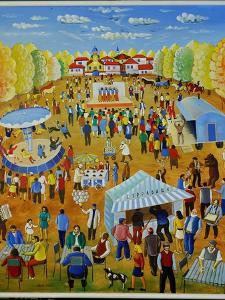 The Fair from My Childhood, 1999 by Radi Nedelchev