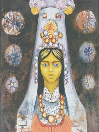 Woman's Head, 1968