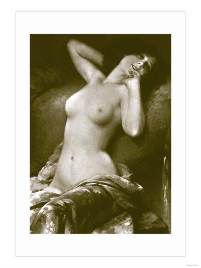 Radiant Nude--Art Print