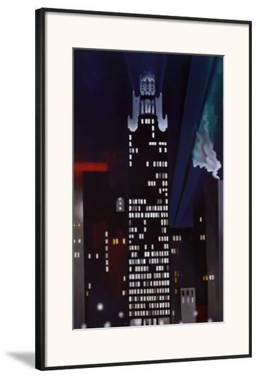 Radiator Building-Georgia O'Keeffe-Framed Art Print