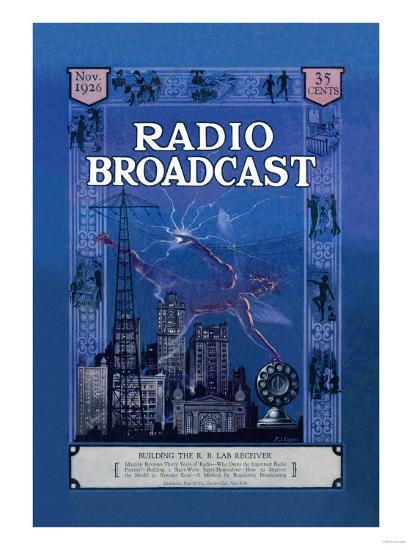 Radio Broadcast, Building the R.B. Lab Receiver--Art Print
