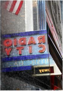 Radio City Music Hall Reflection