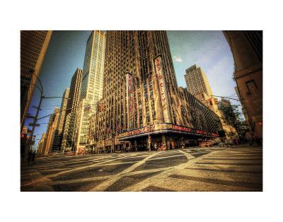Radio City-Eric Wood-Art Print