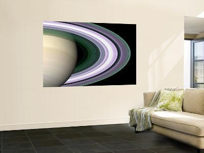 Radio Occultation: Unraveling Saturn's Rings--Wall Mural