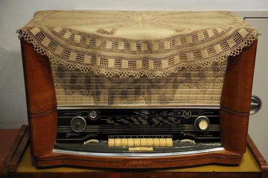 Radio Receiver. Built in Riga, Latvia, 1958-1960.--Giclee Print