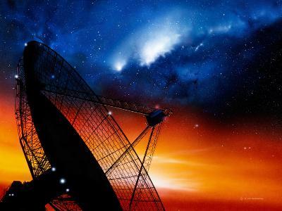 Radio Telescope-Detlev Van Ravenswaay-Photographic Print