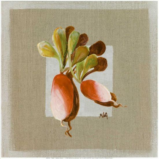 Radis-Nathalie Andrieu-Art Print