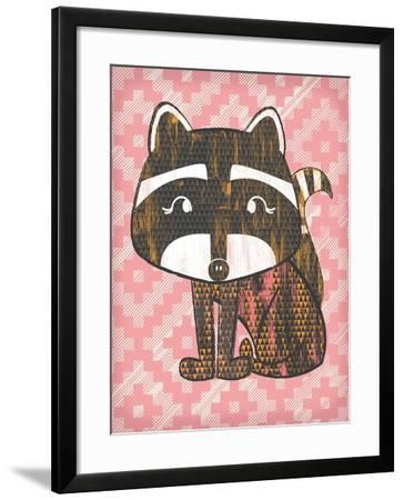 Radly Raccoon-Ashley Sta Teresa-Framed Art Print