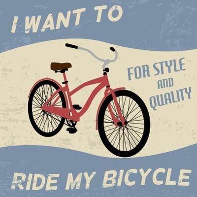 Bicycle Vintage Poster