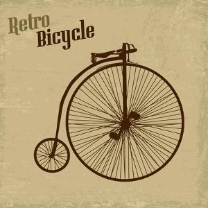 Bicycle Vintage Poster by radubalint