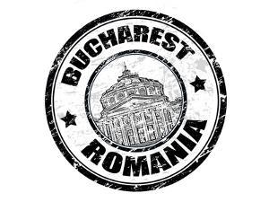 Bucharest Stamp by radubalint