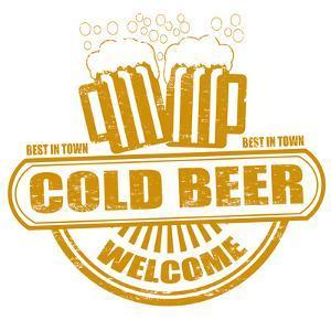 Cold Beer Stamp by radubalint