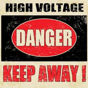 Danger High Voltage by radubalint