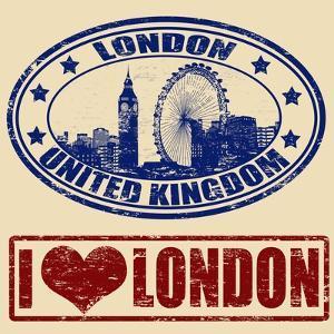 London Stamps by radubalint
