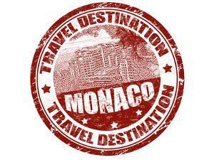 Monaco Stamp by radubalint