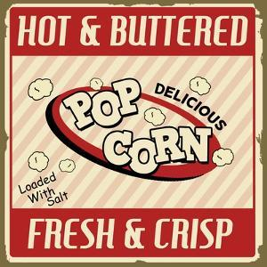 Pop Corn Vintage Poster by radubalint