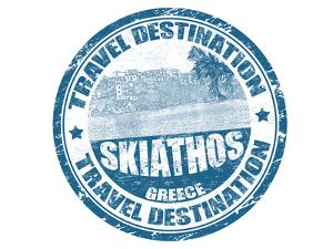 Skiathos Stamp by radubalint