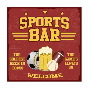 Sport Bar Poster by radubalint