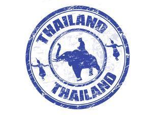 Thailand Stamp by radubalint