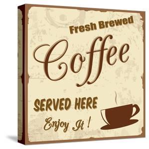Vintage Coffee Poster by radubalint