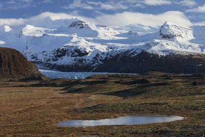 …raefajškull, Svinafellsjškull, Skaftafell, South Iceland, Iceland-Rainer Mirau-Photographic Print
