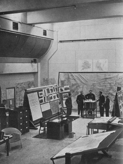 RAF Bomber Command operations room, 1941-Unknown-Photographic Print