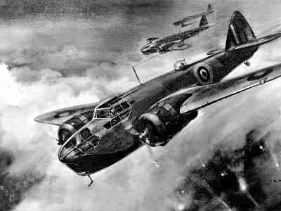 RAF 'Bristol' Blenheim Fighter-Bombers; Second World War--Photographic Print