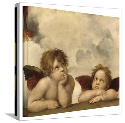 Rafael 'Cherubs' Gallery Wrapped Canvas-Raphael-Gallery Wrapped Canvas