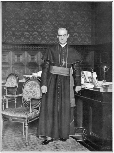 Rafael Merry Del Val Spanish Prelate, Secretary of State at the Vatican--Photographic Print