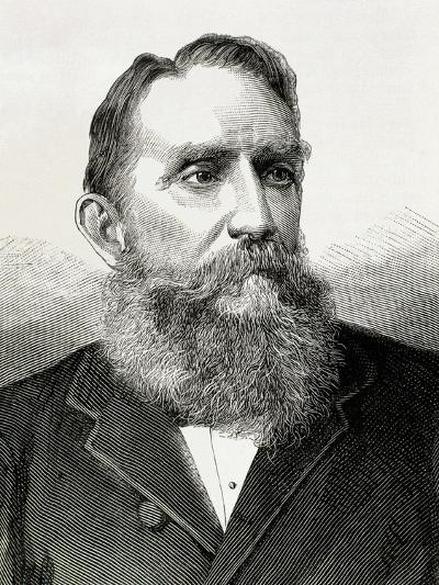 Rafael Nunez (1825-1894). Colombian Politician.-Tarker-Photographic Print