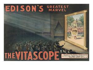 Edison's Greatest Marvel--The Vitascope by Raff & Gammon