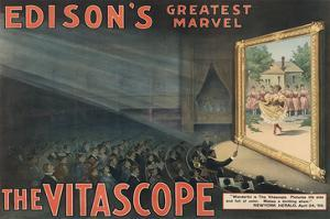 Edison's Greatest Marvel--The Vitascope by Raff & Gammon