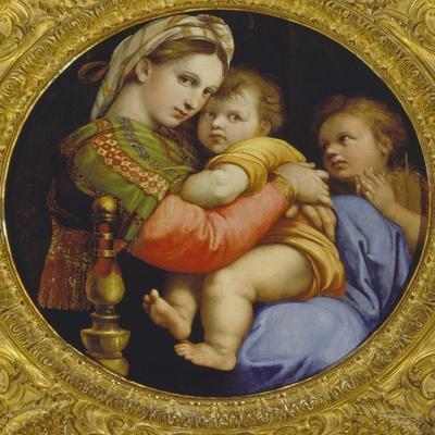 Die Madonna della sedia. Um 1514