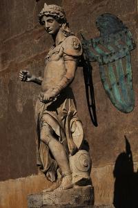 Archangel Michael, 1544 by Raffaello da Montelupo