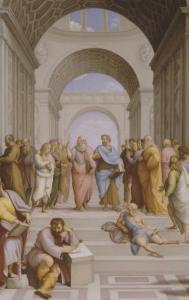 L'Ecole d'Ath�s by Raffaello Sanzio