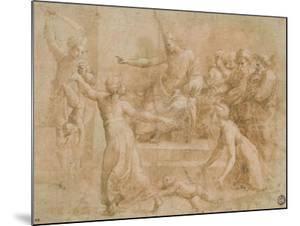 Le jugement de Salomon by Raffaello Sanzio