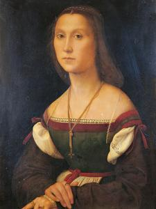 Portrait of a Woman (La Muta) by Raffaello Sanzio