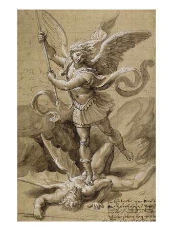 Saint Michel combattant le Démon