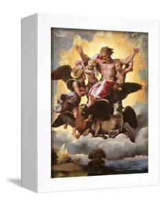 The Vision of Ezekiel by Raffaello Sanzio