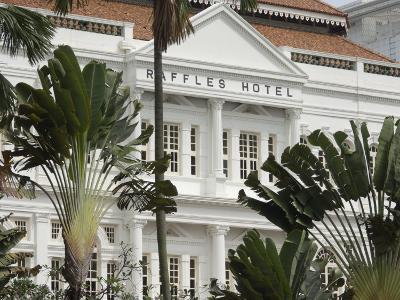 Raffles Hotel, Singapore, South East Asia-Amanda Hall-Photographic Print