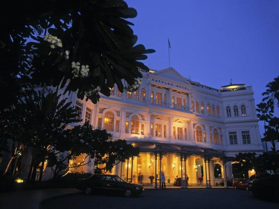 Raffles Hotel, Singapore-Rex Butcher-Photographic Print