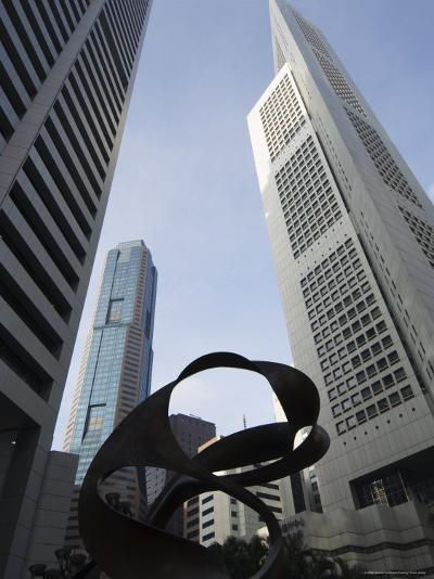 Raffles Place, the Financial District, Singapore, Southeast Asia, Asia-Amanda Hall-Photographic Print